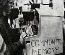 A Community Memory terminal (ca. 1970). Photo: Jason Scott