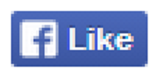 Facebook like button magnified