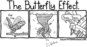 butterfly effect comic